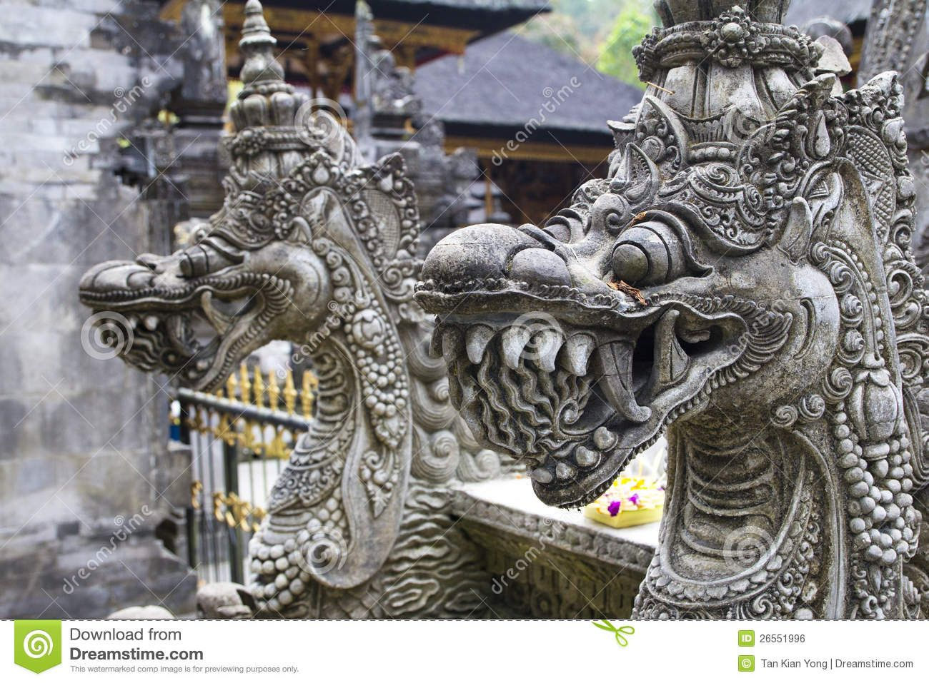 Balinese Dragon Sculpture Indonesian Art And Dragons