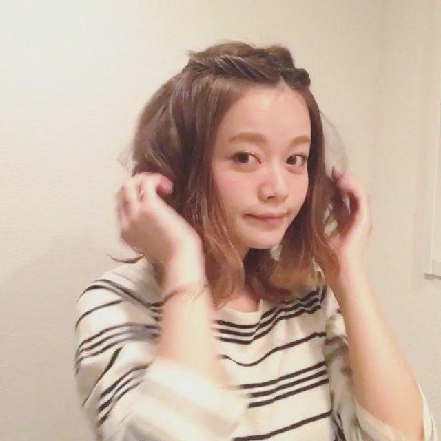 伸ばしかけ前髪やイメチェンに 動画で学ぶ前髪ヘアアレンジ8選 前髪