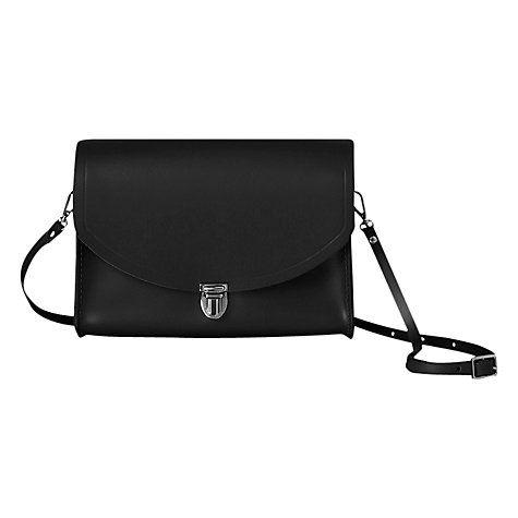 Buy Cambridge Satchel Large Leather Push Lock Bag Online at johnlewis.com