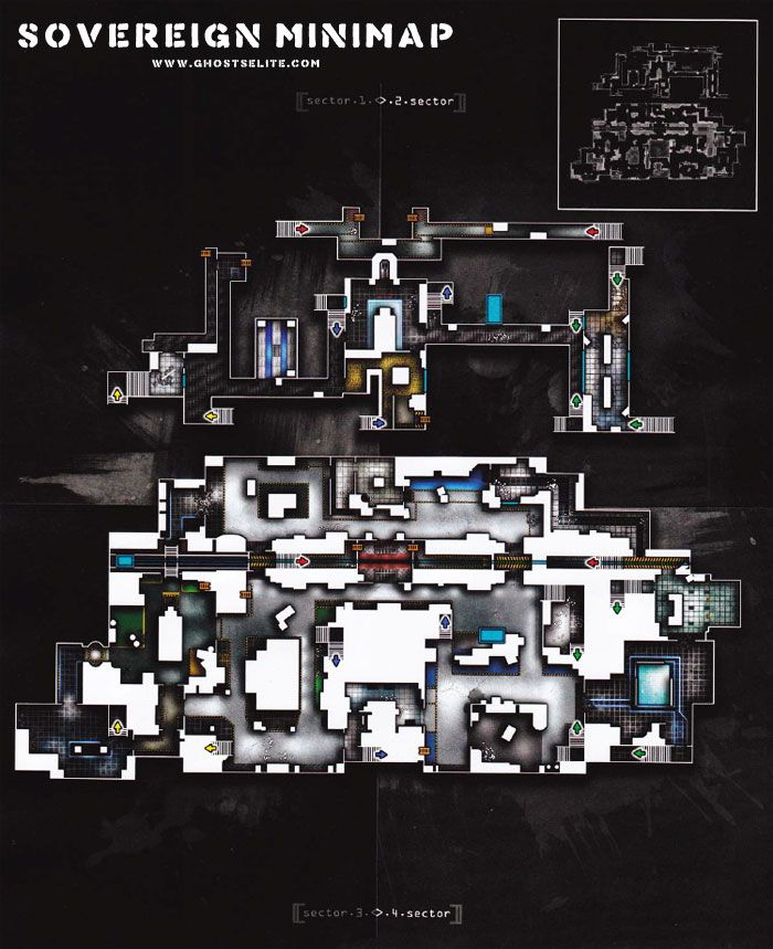 Sovereign Map Call of Duty Ghosts | Maps Call of Duty Ghosts