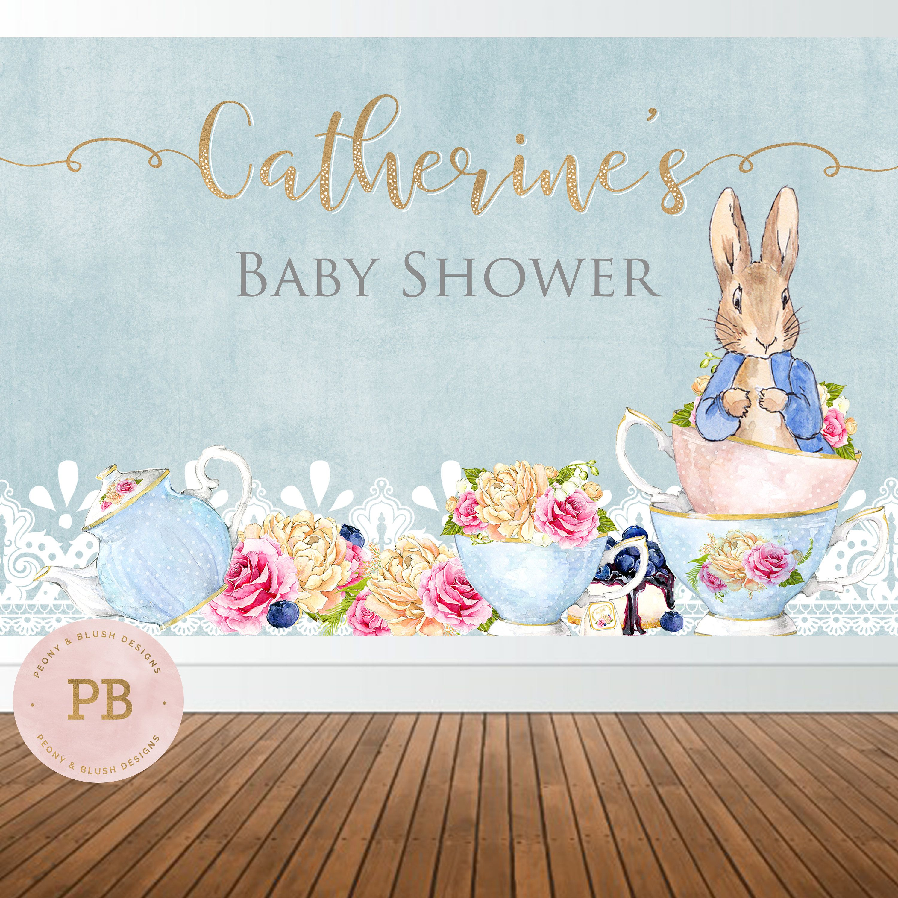 invitation bunny horse showers gold pin shower pink baby and invitations