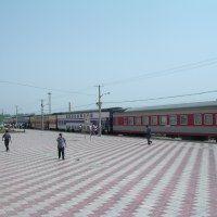 Kashgar train station