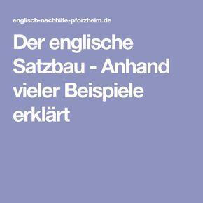 Probleme Englisch