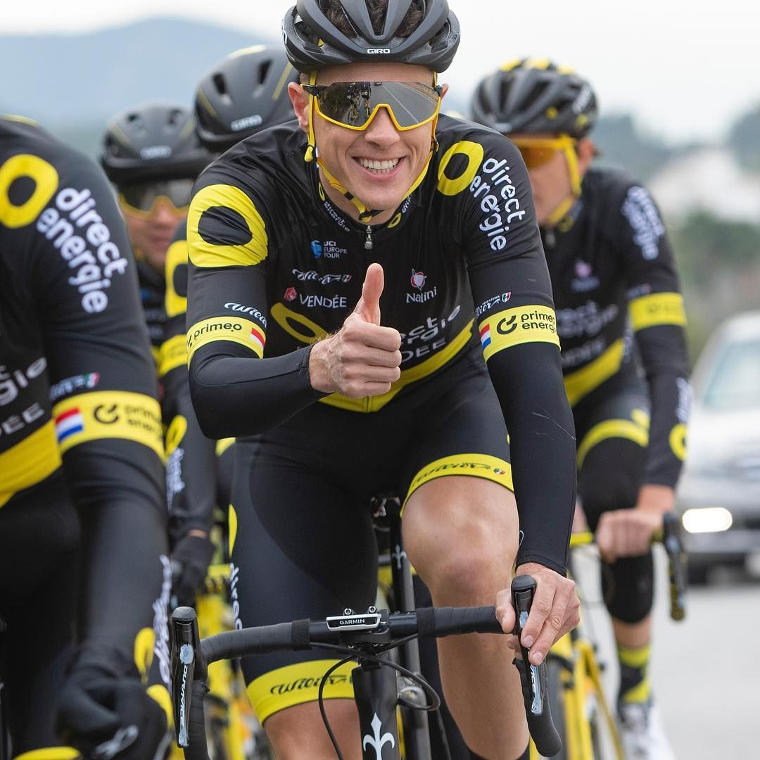 Sylvain Chavanel Fra Direct Energie Went On Along After Being In The Stage 2 Breakaway At The Tour De France Tour De France Lotto Soudal One Team