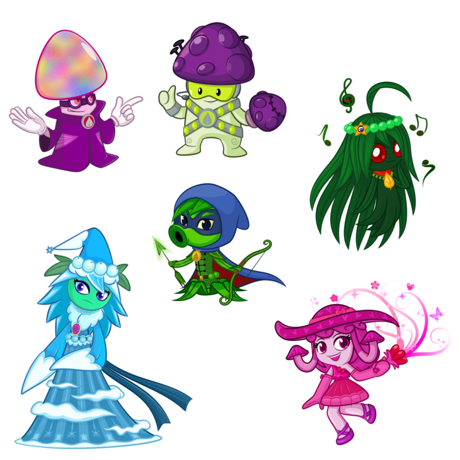 Pvz Heroes Oc Cover 3 By Ngtth Plant Zombie Plants Vs Zombies Plants Vs Zombies Birthday Party