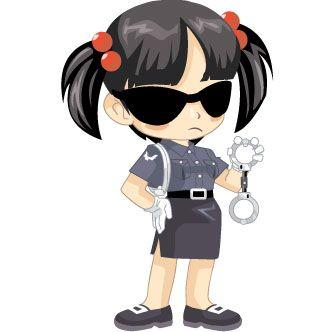 anime policia  Pesquisa Google  Desenhos  Pinterest