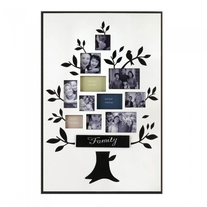 Accent Plus Family Tree Photo Frame
