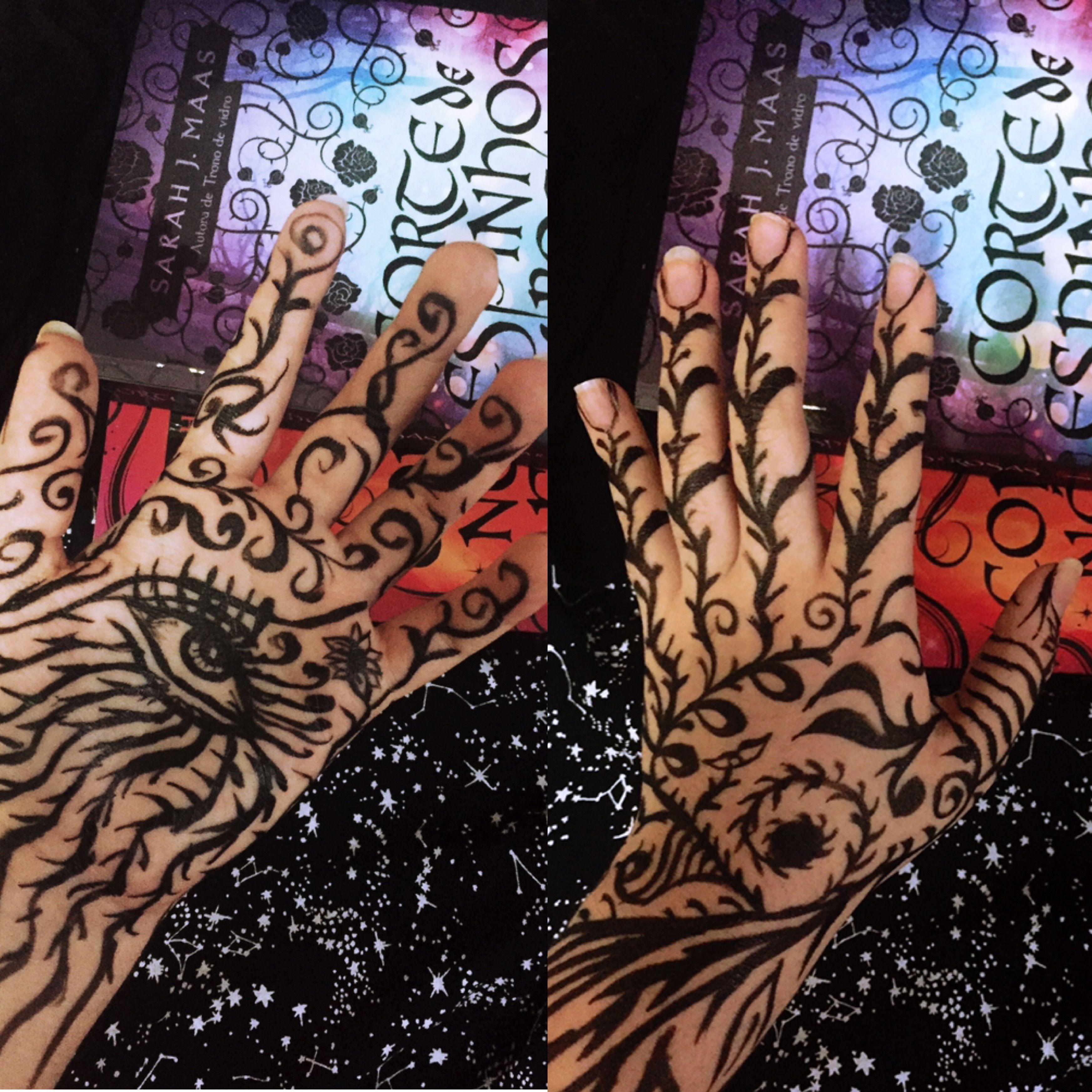 Feyre Tattoo By Nubiaemdetalhes Acotar Acourtofthornsandroses