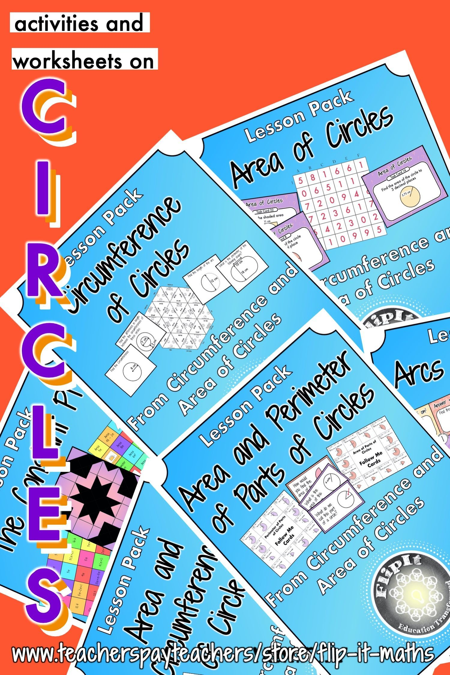 Circumference And Area Of Circles Bundle In With