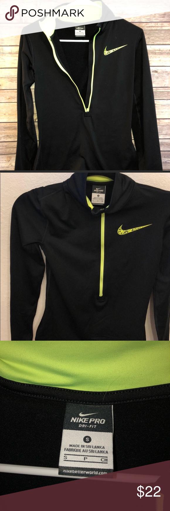 Nike Pro Dri Fit Sweatshirt Workout Sweatshirt Sweatshirts Dri Fit