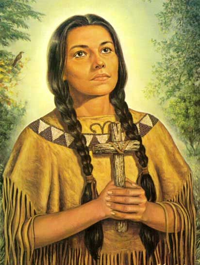 BL. KATERI TEKAKWITHA, was born in, New York, in 1656, to ...