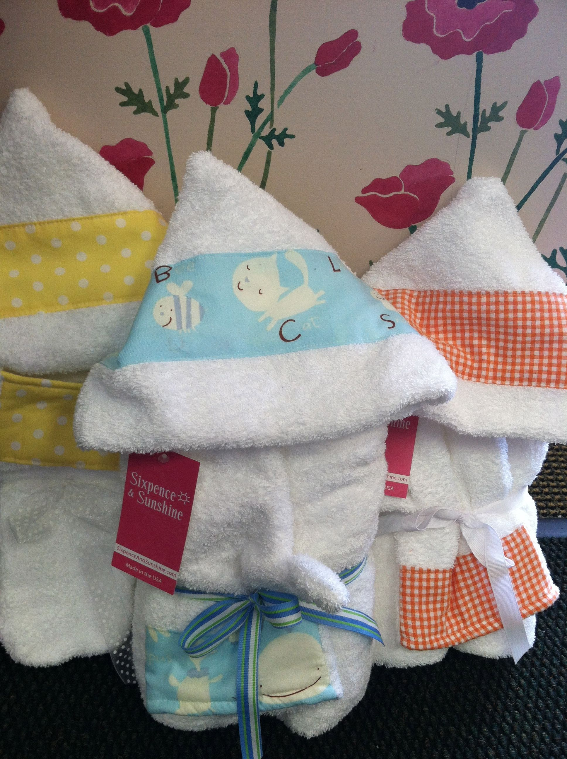 These Are Our Custom Made Full Size Hooded Bath Towels Made