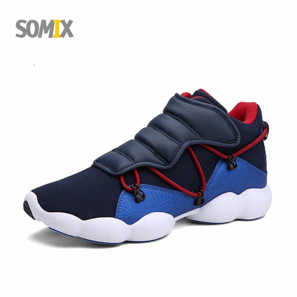 e9dd3df03 Somix 2017 yeni nefes örgü erkek spor ayakkabı hafif koşu ayakkabıları  erkekler açık sneakers rahat yürüyüş ayakkabıları euro 39-44
