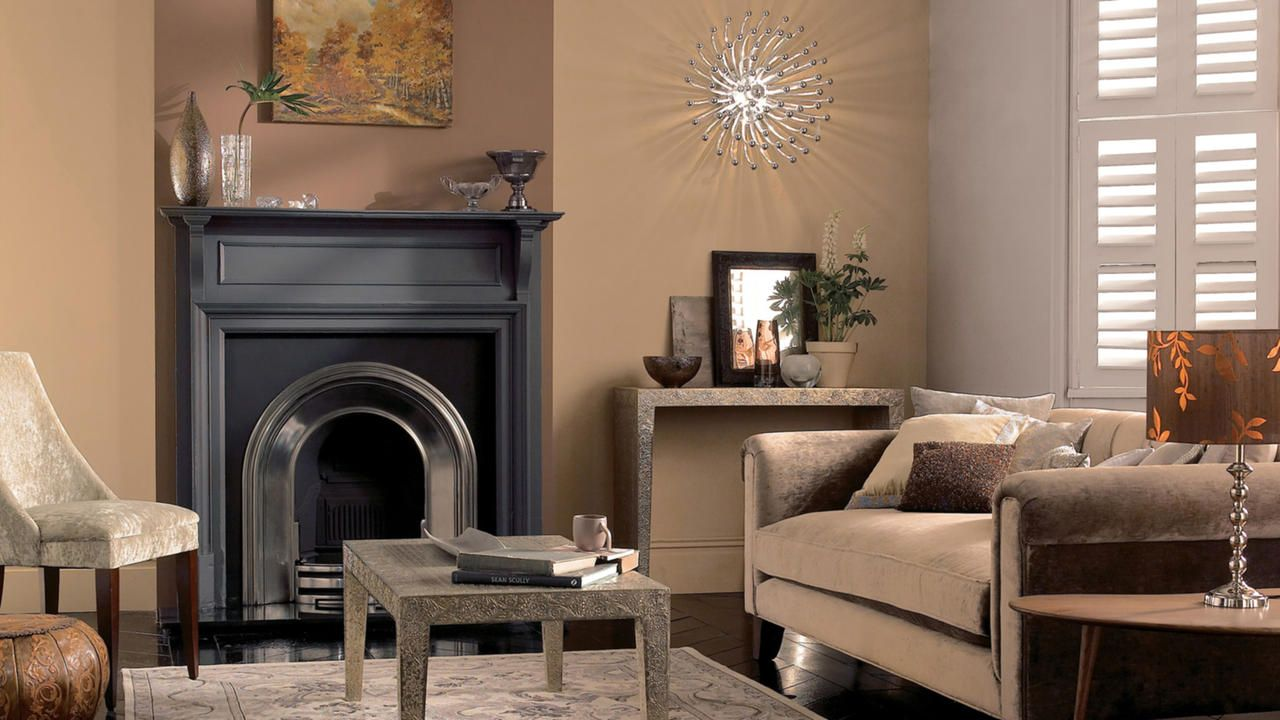 Make A Statement In Your Living Room With Glorious Gold Colour Scheme