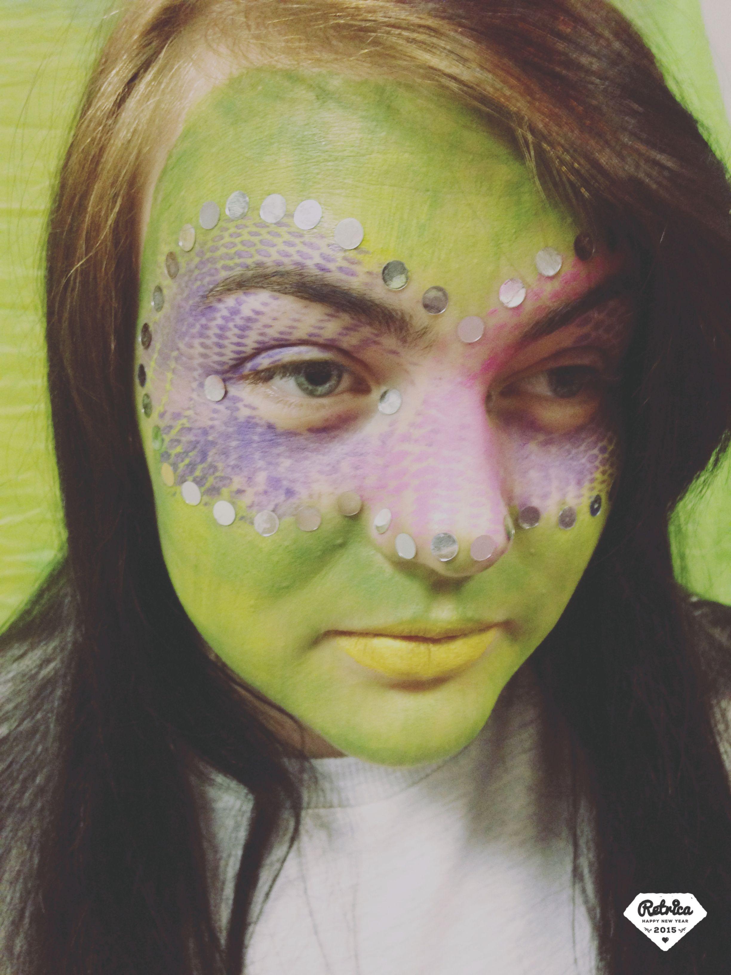 Kryolan makeup on Alisha