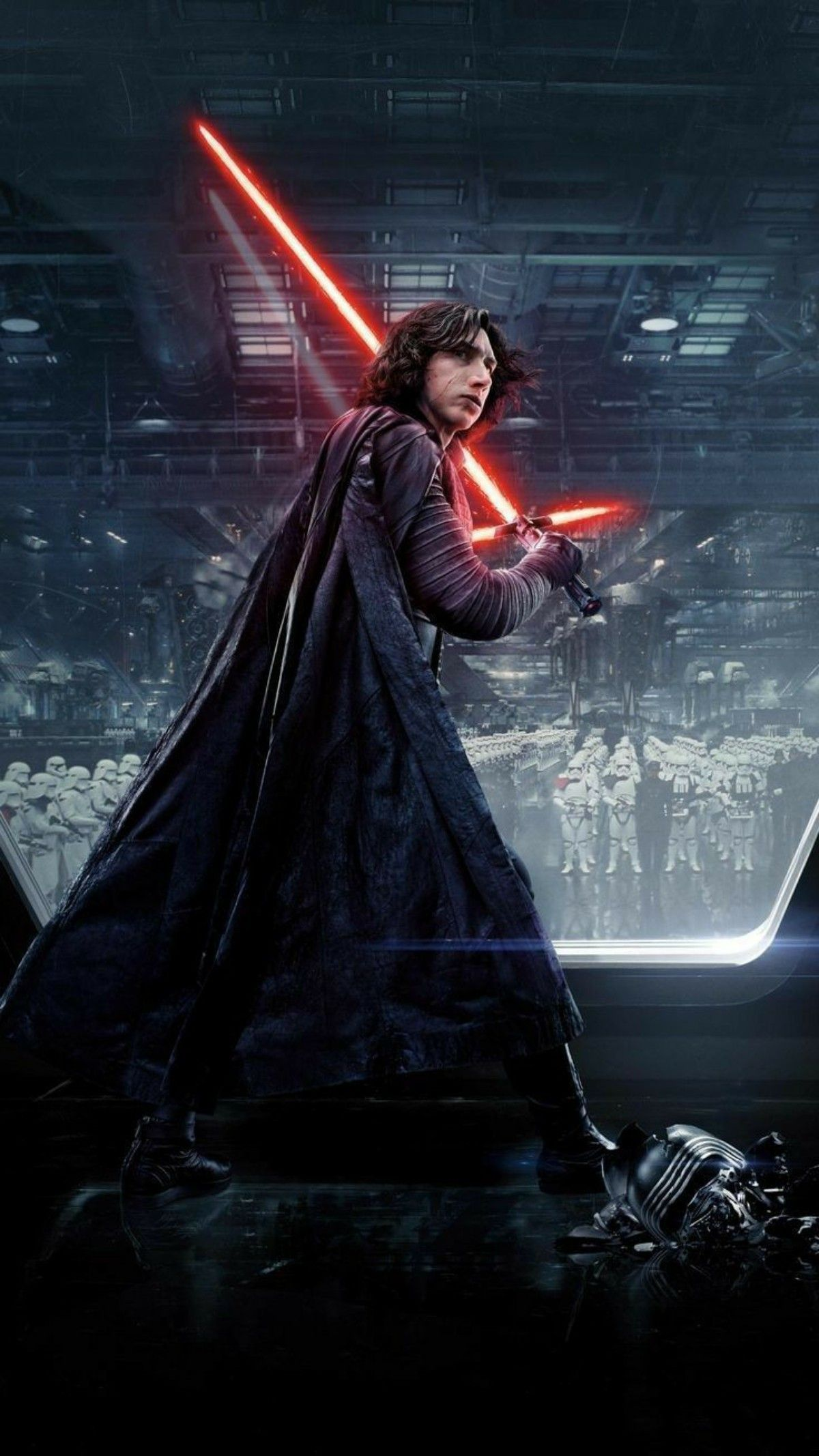 Ben Solo Aka Kylo Ren Phone Wallpaper Starwars Kyloren Reylo Di 2020 Star Wars Wallpaper Ponsel Iphone