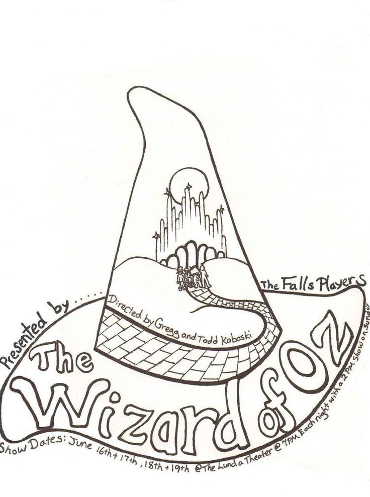 A isforAfroWizard of oz coloring pages free - ... | Create | Thread ...
