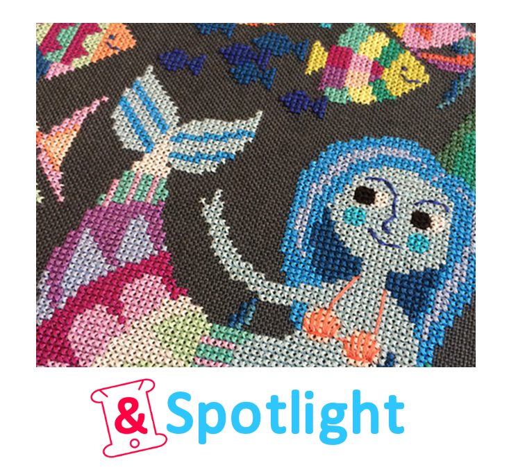 Spotlight: Satsuma Street's Mermaid Lagoon #xstitch #embroidery  Love Satsuma Street :D