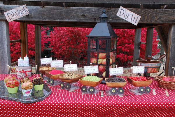 5 Fantastic Candy Apple Buffet Ideas With Images Caramel
