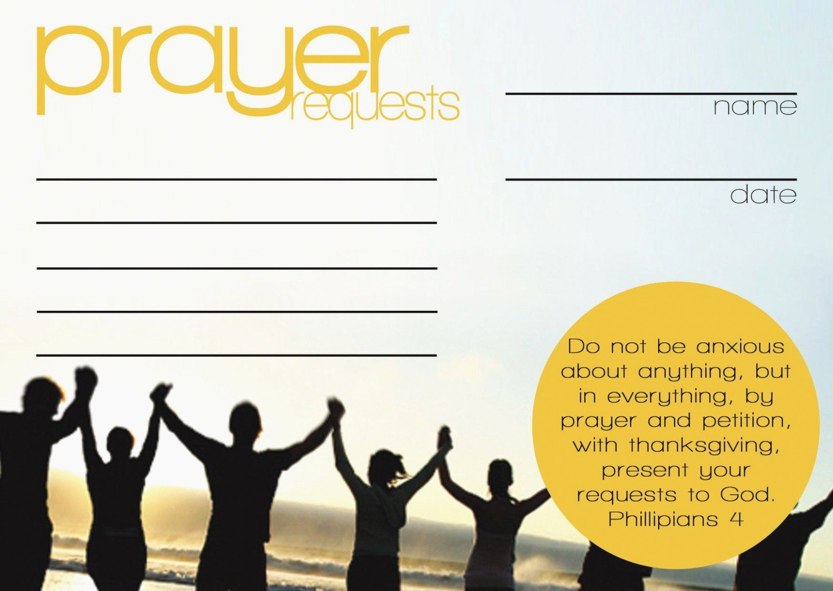 Prayer Request Cards Template New Everything You Need To Know