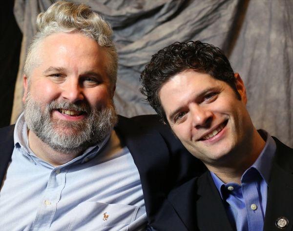 Brian Yorkey and Tom Kitt, official Tony Awards portrait