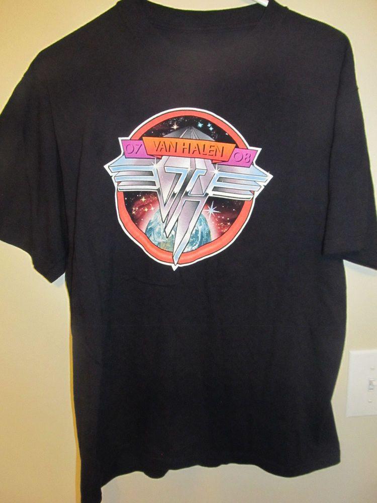 2007 2008 van halen tour shirt medium tour shirt