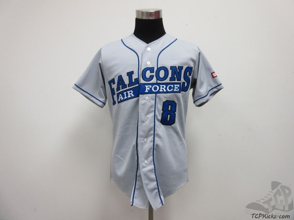 Wilson Air Force Academy Falcons Button Up Baseball Jersey Sz M Medium Sewn 8 Jersey Air Force Air Force Academy