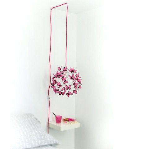 decorar crochet de con lampara cables techo los NZnw8X0kPO