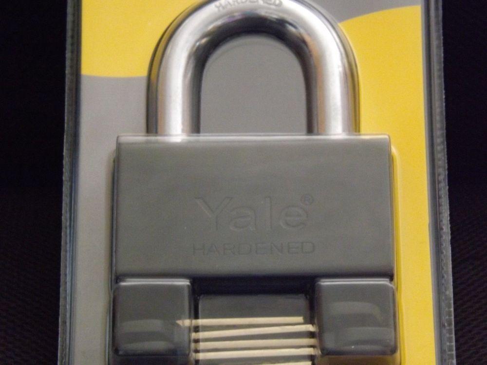 Yale Padlock High Security Heavy Duty Xl Storage Gate Garage Padlock Yale Lock