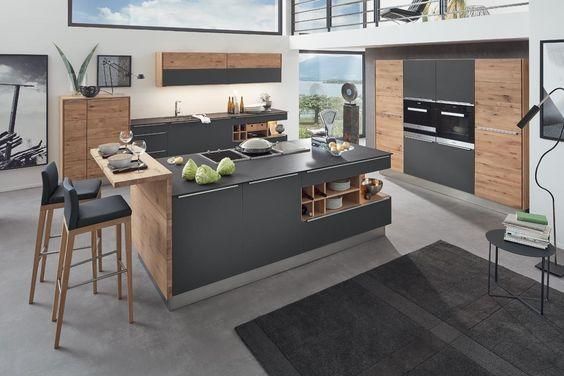 massivholzkuechen Bad Pinterest Living room ideas, Penthouses
