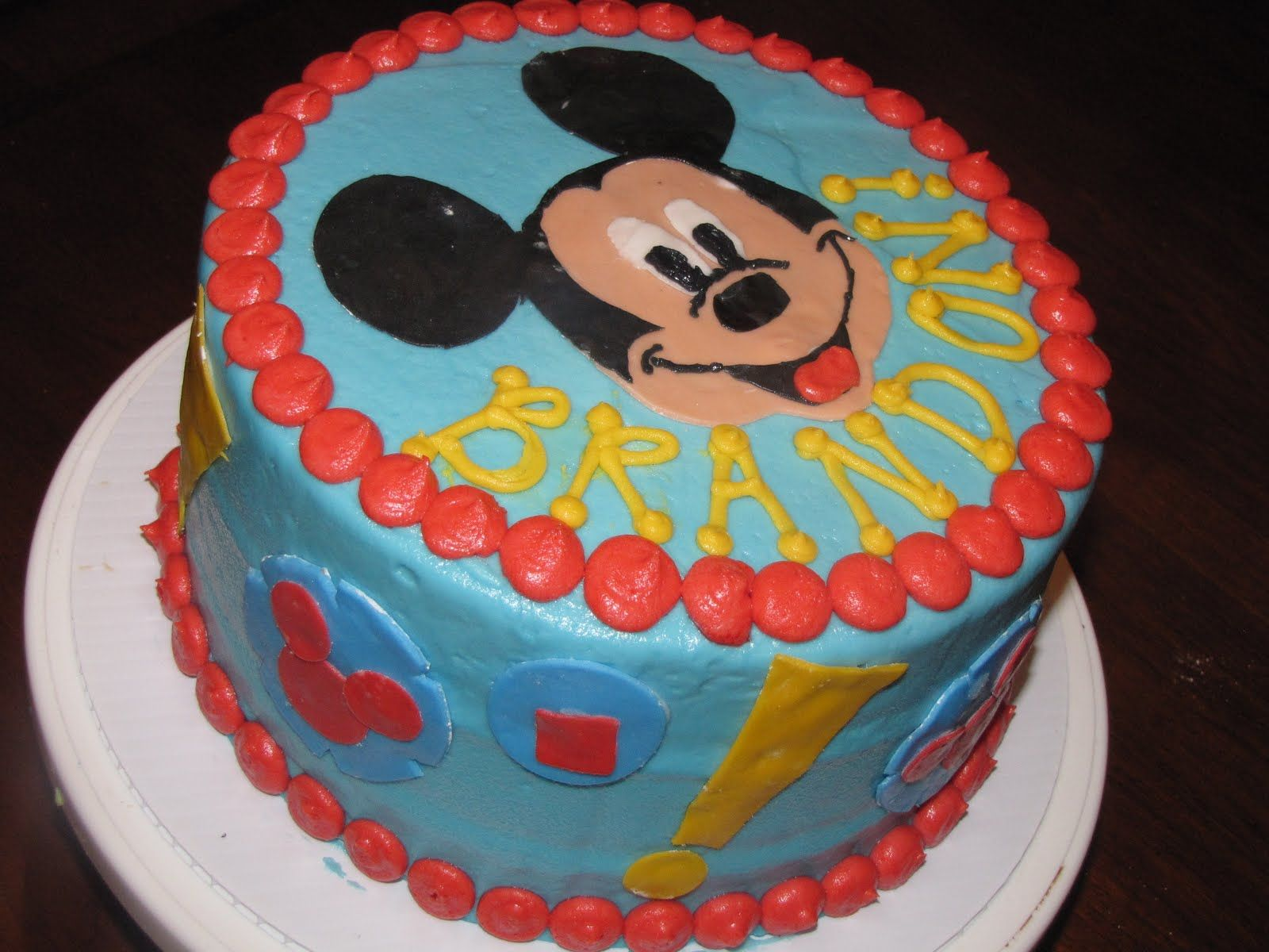 mickey mouse clubhouse birthday cakes Simply Charming Cakes