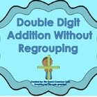 This file contains a worksheet and answer key for students to practice double digit addition without regrouping. Students use a highlighter to high...