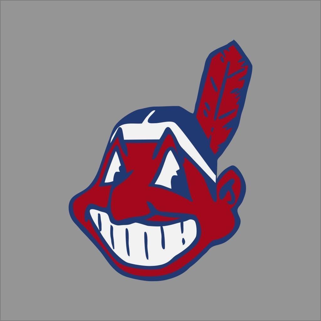 Cleveland Indians Mlb Team Logo Vinyl Decal Sticker Car Window Wall Cornhole Sports Vinyl Mlb Team Logos Mlb Teams