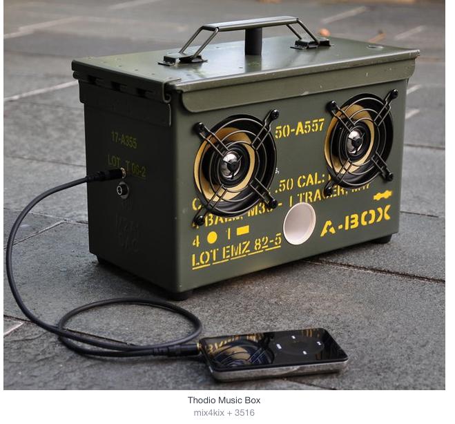 cassetta - army - bass - music - military box -