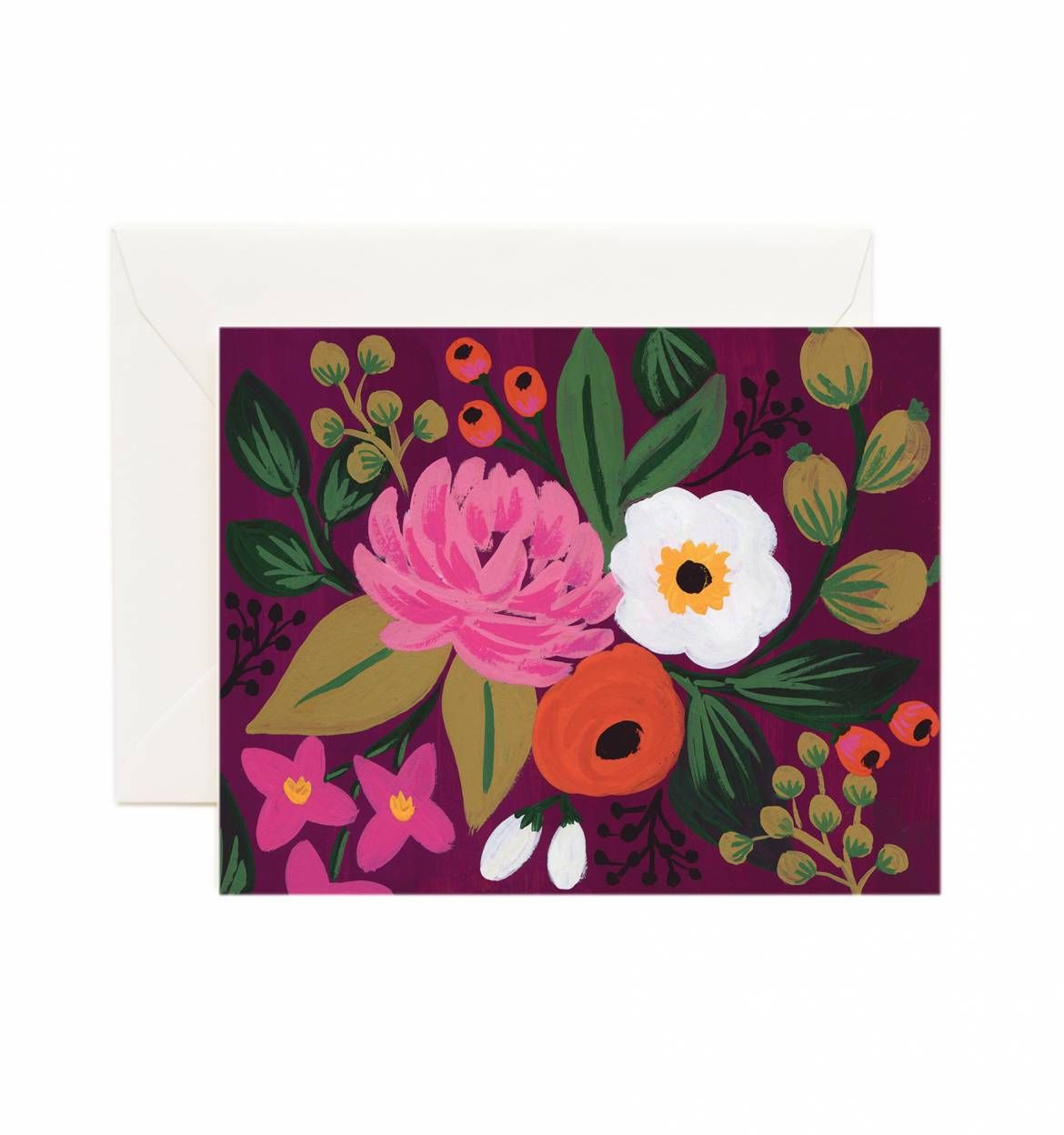 Vintage Blossoms Assorted Card Set Rifle Paper Flower Art And