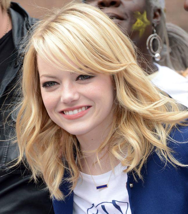 28+ Jolie coiffure pour visage rond inspiration