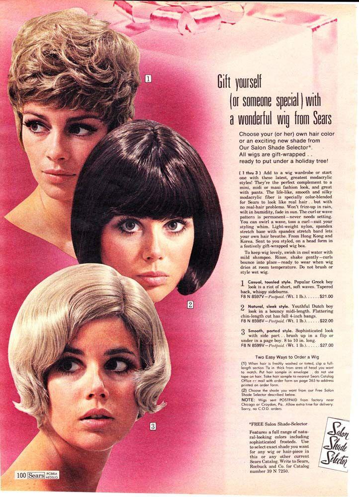 1970-womens-wigs.jpg (722×1000) | Girly, Girly | Pinterest | Fashion ...
