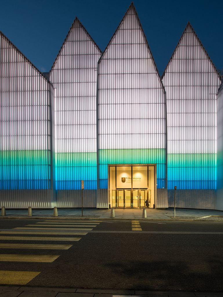 Szczecin Filharmonia Szczecinska Modern Architecture Architecture Facade