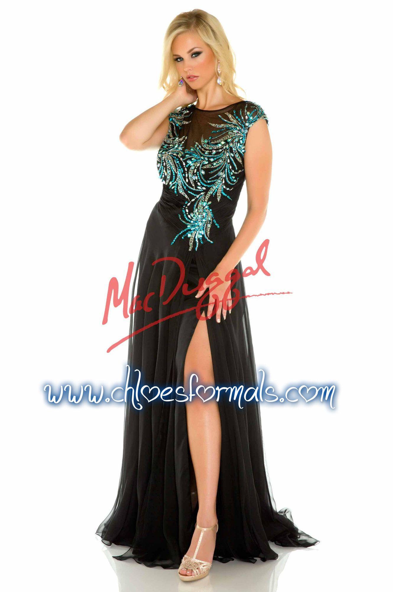 SZ 16W   Black/Peacock  Chloe's Choice Formals   256.847.3323