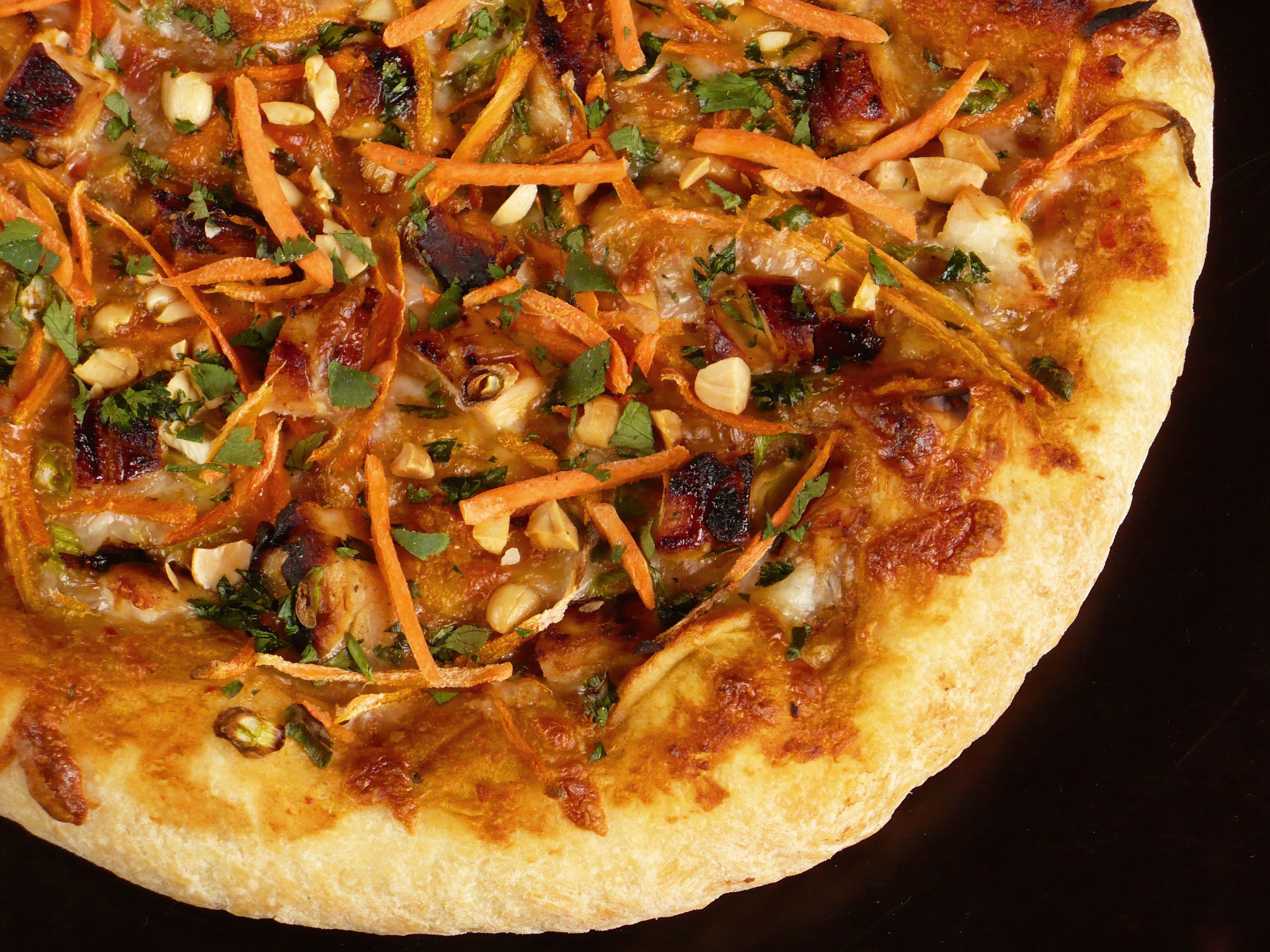 thai chicken pizza from california pizza kichen da best mmmm