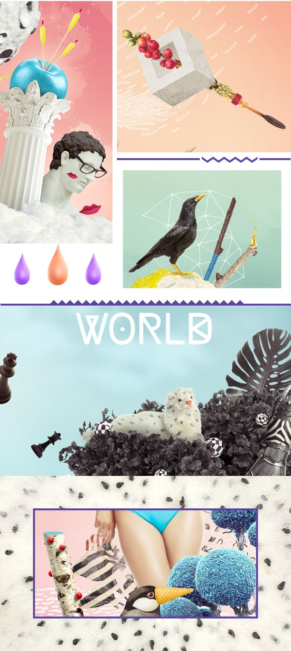 Imagine Your World | BODY GLOVE by BECHA, via Behance