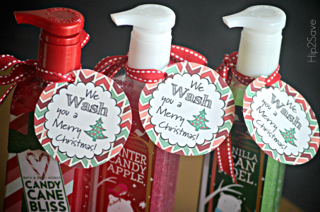 5 Easy DIY Christmas Gift Ideas | Free Printable Gift Tags Included