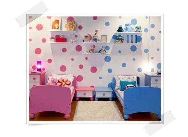 C mo decorar habitaciones compartidas por un ni o y una ni a habitaciones infantiles decorar - Decorar habitacion infantil nina ...