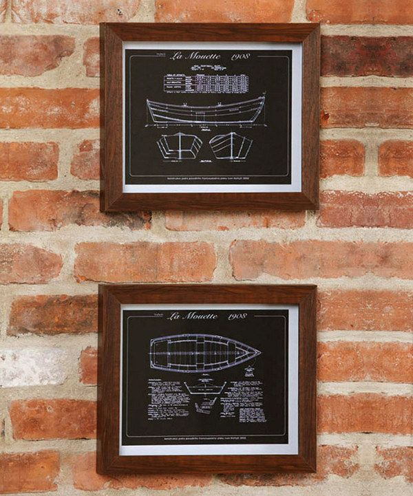 Love this framed ship blueprint wall art set by evergreen on zulily love this framed ship blueprint wall art set by evergreen on zulily zulilyfinds malvernweather Image collections