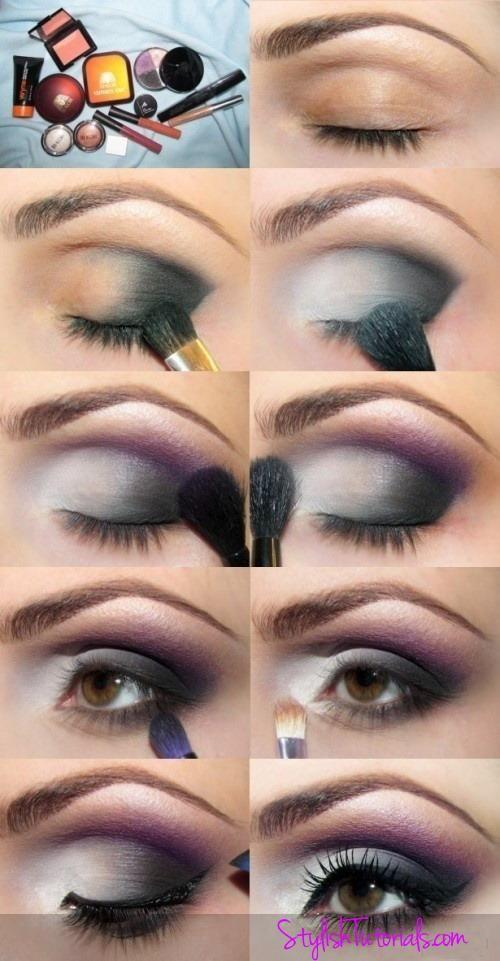 Makeup Tutorial For Hazel Eye Silver Grey Eyes Evening Makeup