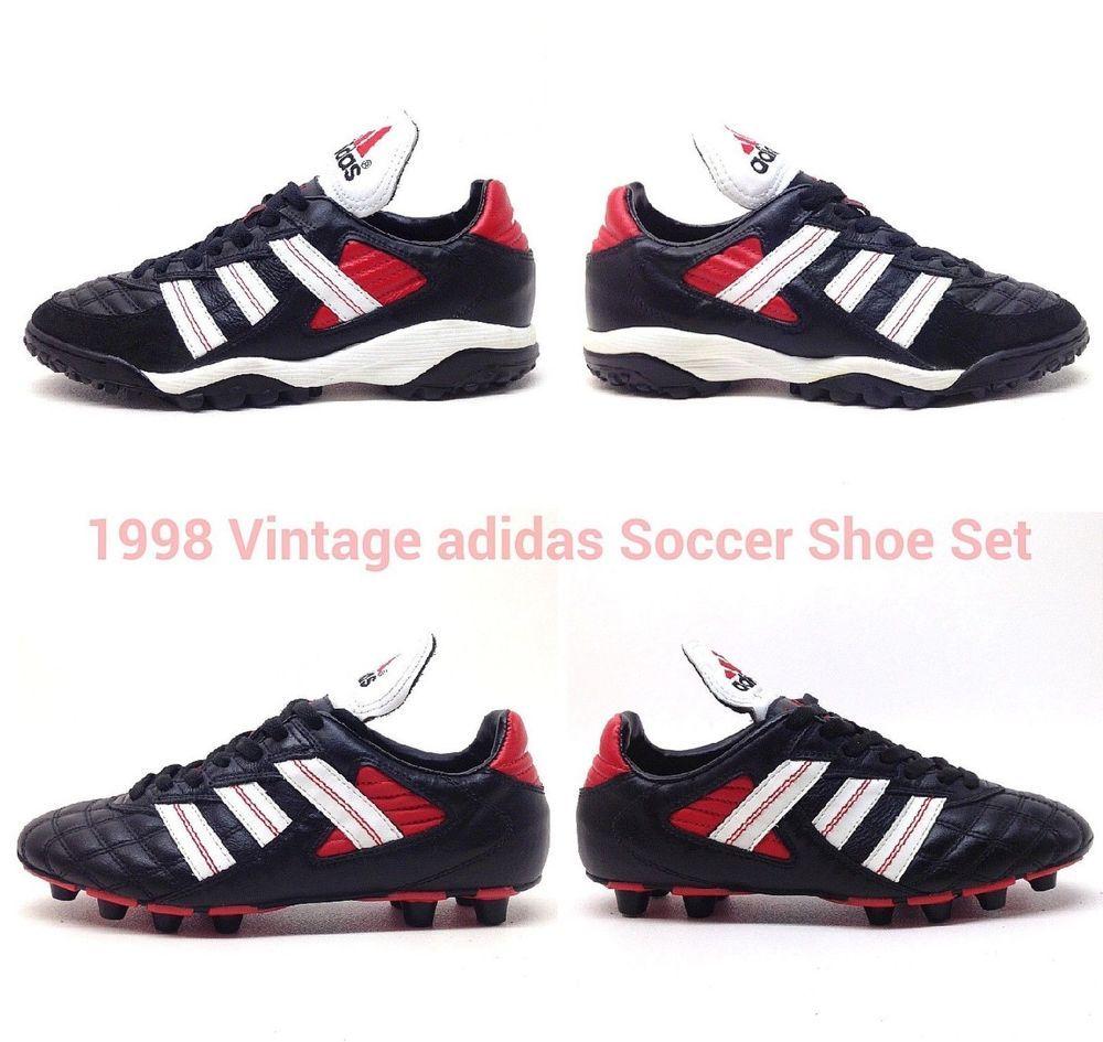 751dc2bfe Mens adidas Predator TRX Football Boots Black sz 6 VTG Iseran Trainers 39  US 6.5