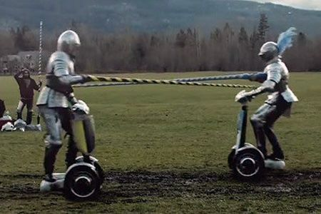 segway jousting? forreal? lolz  Yes!!!!