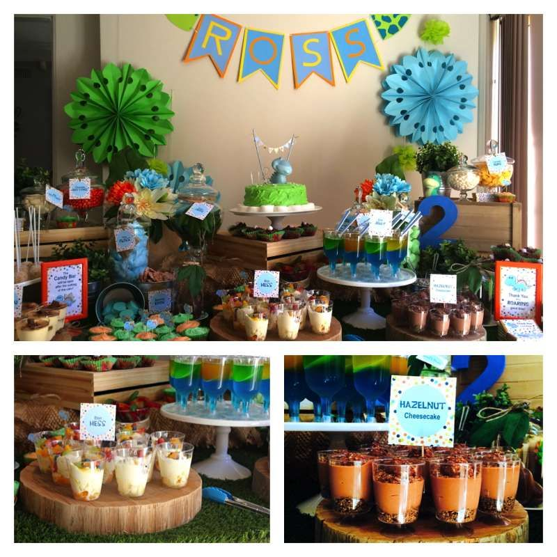Baby Dinosaur Birthday Party Ideas Birthday candy Birthdays and
