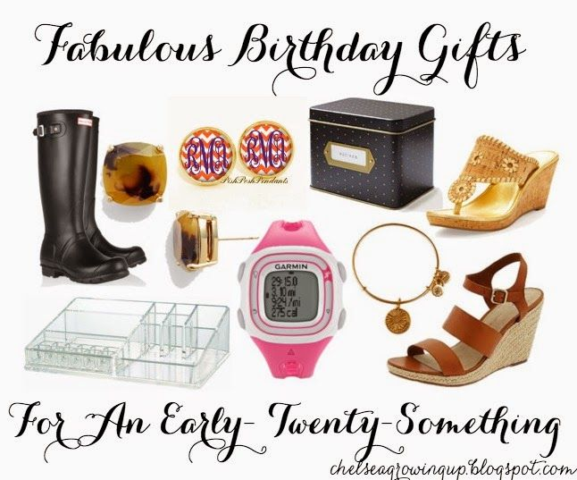 Gift Ideas For An Early Twenty Something