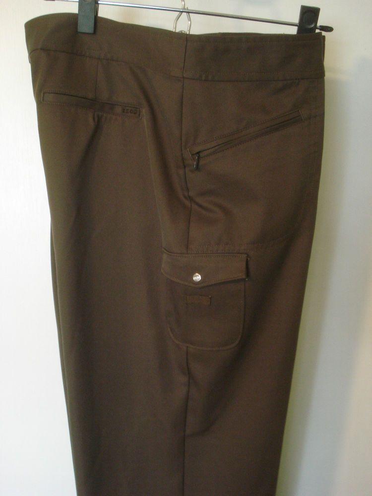 b5e90785bf IZOD XFG womens stretch golf pants Size 8 Brown #IZOD | Sports ...